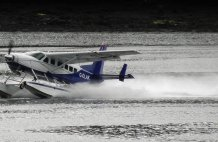 Skye Seaplane take off