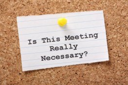 Top Tips for... Running Effective Meetings