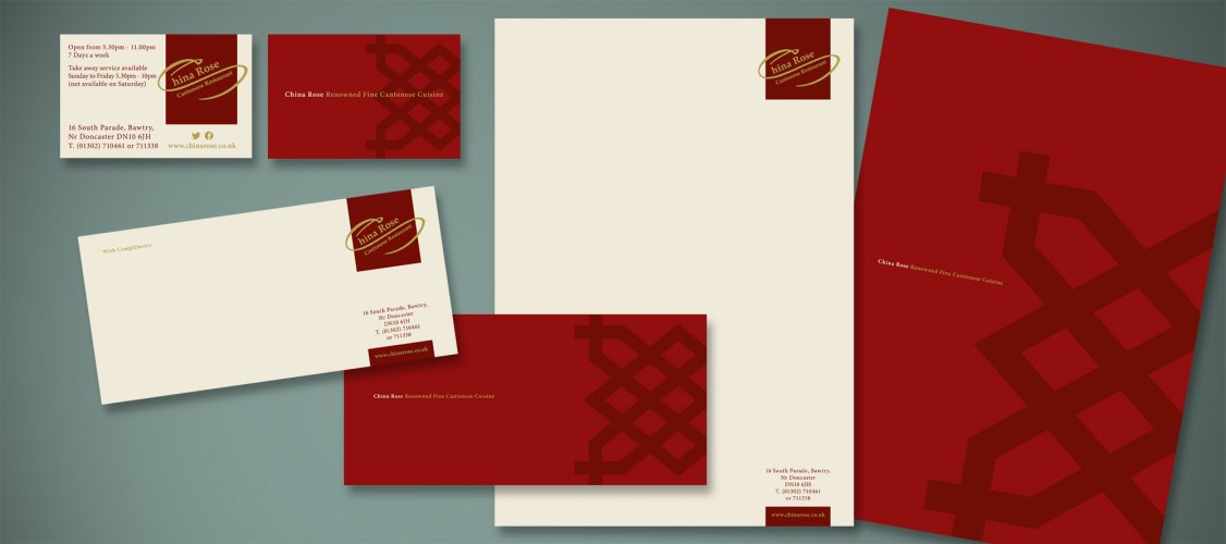 letterhead business cards and with compliments slip