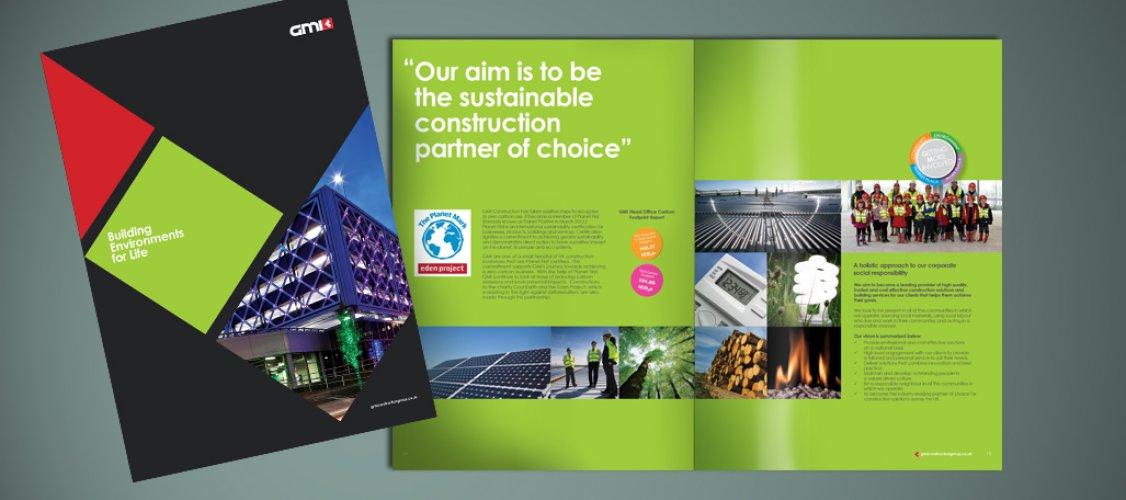 GMI Brochure Design