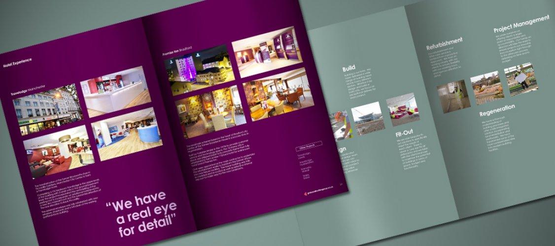 GMI Brochure Design inside spread