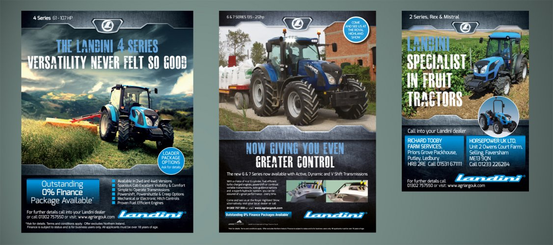 Tractor Advertising