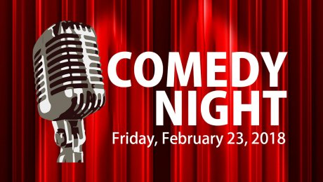 Come along for a laugh at our Comedy Night