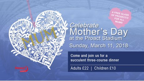 Celebrate Mother's Day at Proact Stadium