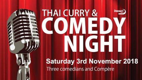 Curry & Comedy Night