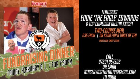 Fundraising Dinner with Eddie 'The Eagle' Edwards