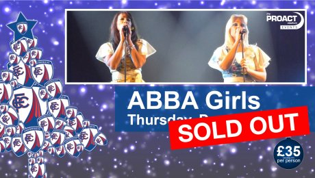 Christmas Gala Cabaret Evening: ABBA Girls