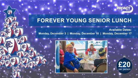 Forever Young Senior Christmas Lunch