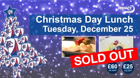 Christmas Day Lunch - SOLD OUT