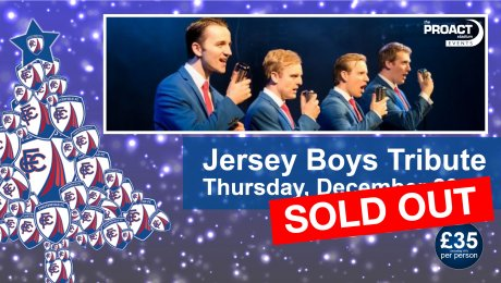 Christmas Gala Cabaret Evening: Jersey Boys Tribute