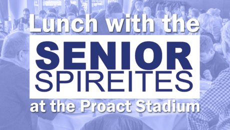 Senior Spireites Lunch with Steve Baines