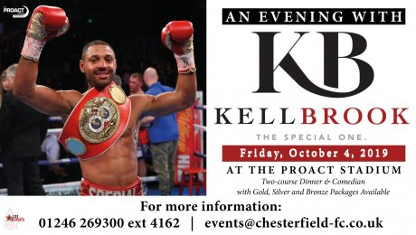 An evening with Kell Brook