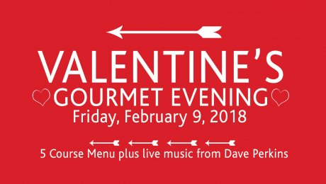You're going to LOVE our Valentine's Gourmet Evening!
