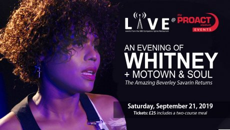 An evening of Whitney Houston + Motown and Soul