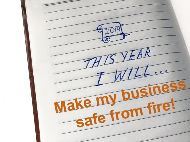 Resolve to really make a difference with fire safety this New Year