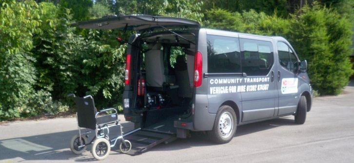 Wheelchair Friendly Vehicle Hire
