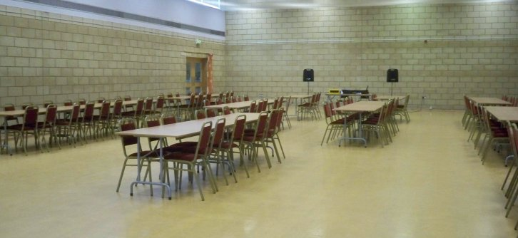 Bullcroft Sports Hall - Bingo