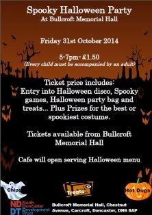Bullcroft Halloween Disco - 31st October 2014