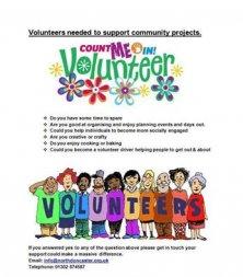 Count Me In Volunteer