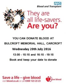 Do something special-You don't have to be a doctor to help save lives