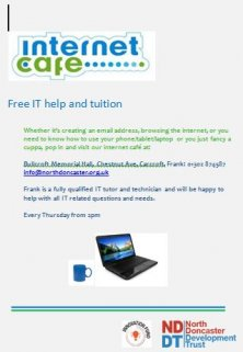 Free IT tuition and advice...