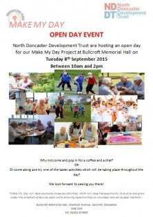 Make My Day Open Day Event on 8th September!