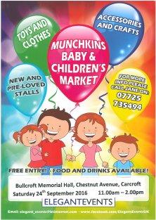 Munchkins, baby & Children's Market