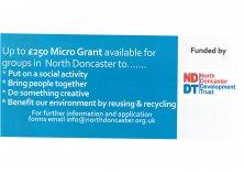 NDDT Micro Grant Returns