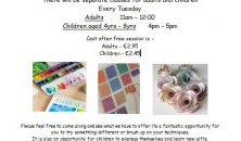 Art & Mixed Crafts free taster session