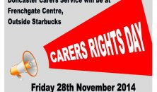 Carers Rights Day - Frenchgate Shopping Centre