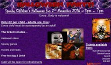 Children's Spooky Halloween Party - 2nd November!