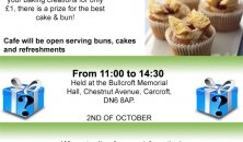 Community Bake off and Coffee Morning - 2nd October