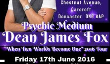 Psychic medium Dean James Fox