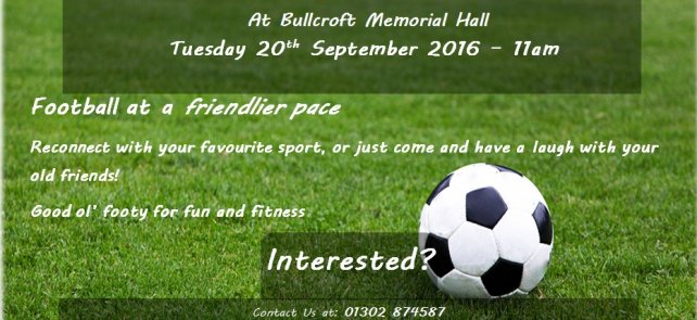 Walking Football - Sept 20th