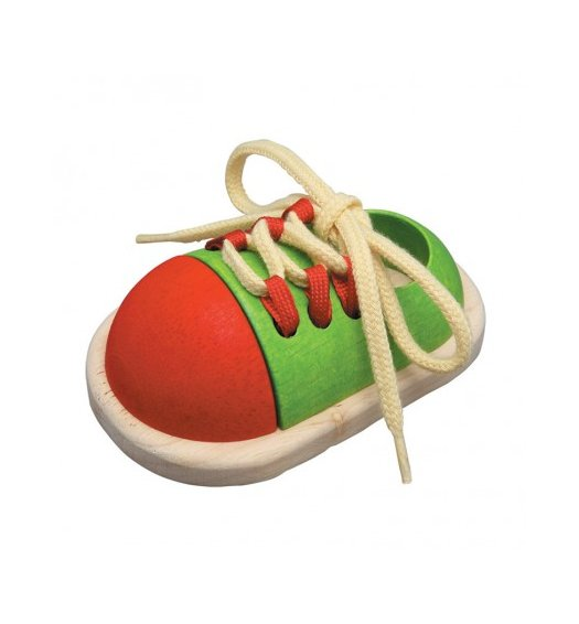 PlanToys Tie-Up Shoe - PL5319