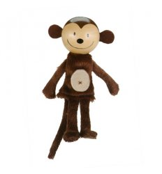 Fiesta Crafts Finger Puppet - Monkey -