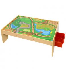 Bigjigs Train Table with Drawers - BJT041