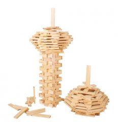 Bigjigs Play Planks - Natural 200 Pieces!  -