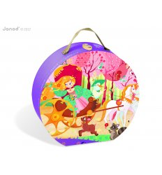 Janod Princess and Coach Puzzle -