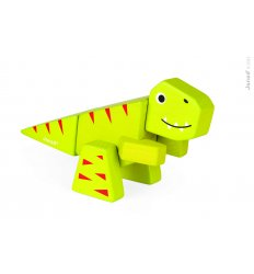 Janod Funny Kit - Wooden Tyrannosaurus -