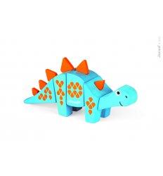 Janod Funny Kit - Wooden Stegosaurus -