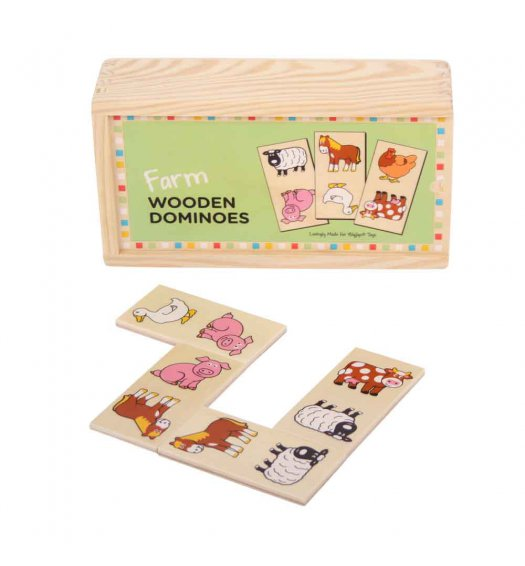 Bigjigs Farm Dominoes - BJ736