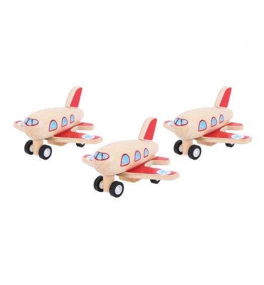 Bigjigs Pull Back Plane - BJ993
