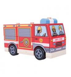 Bigjigs Stacking Fire Engine - BB126