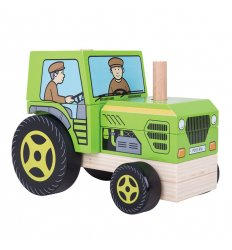 Bigjigs Stacking Tractor - BB125
