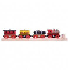 Bigjigs Pirate Train -