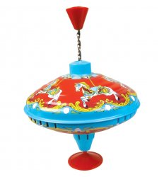 Tobar Carousel Humming Top - 04598