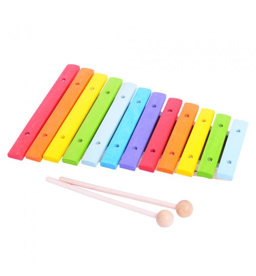 Bigjigs Snazzy Coloured Xylophone  - BJ660