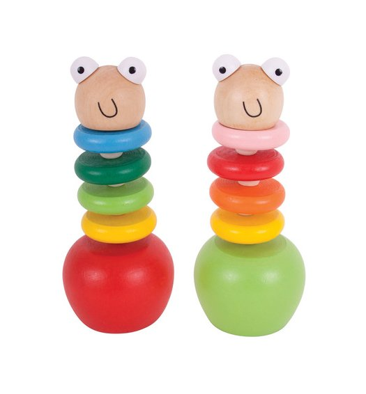 Bigjigs Woody the Push Puppet - WD200