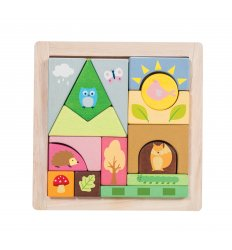 Le Toy Van Petilou Woodland Puzzle Blocks -